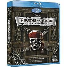Pack: Piratas Del Caribe 1-4 + Bonus