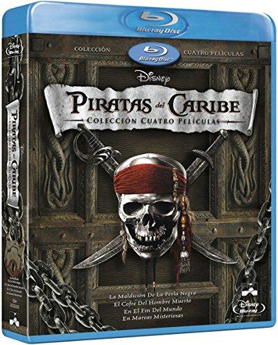 Pack: Piratas Del Caribe 1-4 + Bonus [Blu-ray]