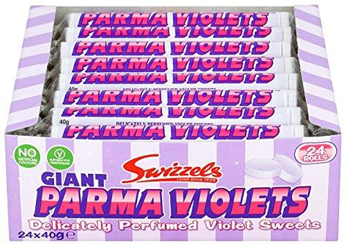 Preisvergleich Produktbild Sweets Riesen Parma Violets Packung mit 24 Stück