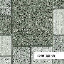 MUESTRA de papel pintado EDEM serie 585 | papel diseño azulejos mosaico piedra, 585-XX:S-585-26