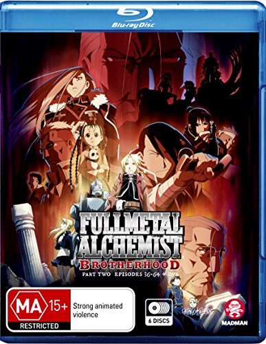 33e804e003a15 Fullmetal Alchemist - Brotherhood Series : Part 2 : Eps 36-64 - Buy ...