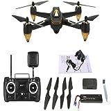 Hubsan H501s x4 Pro 5,8G FPV Quadcopter 10 Plus Kan?le Headless Modus GPS RTF Drohne mit 3M Pixel Kamera (Hohe Version) Schwarz