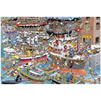 Jan van Haasteren - Crazy Harbour 1500 Jigsaw Puzzle