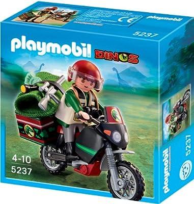 Playmobil Dinosaurios - Moto explorador (5237) de Playmobil