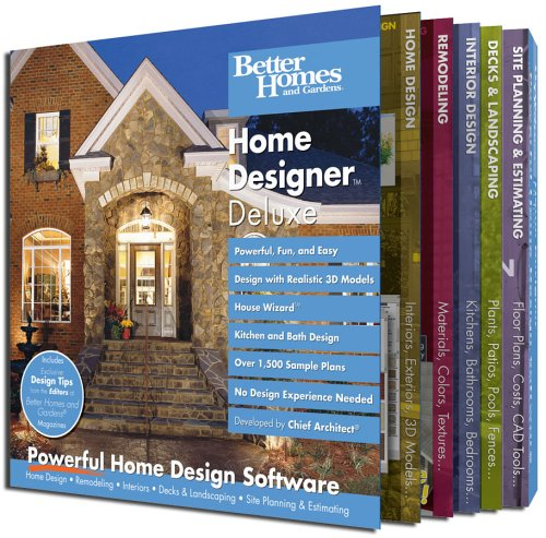 Better Homes and Gardens Home Designer - Homes Better Gardens-software And