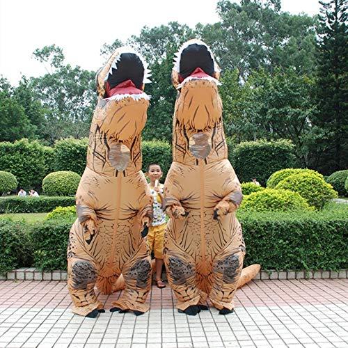 Tamlltide niedliches aufblasbares Tier-Dinosaurier-Kostüm für Halloween, Party, -