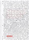 Brunnen–Blocco 1067427–Taccuino/College Student zenart, A4a righe, 90g/m², 80fogli