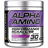 Cellucor Alpha Amino - supplemento amminoacidi BCAA - uva - 30 porzioni