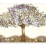 murando - Fototapete 300x210 cm - Vlies Tapete - Moderne Wanddeko - Design Tapete - Wandtapete - Wand Dekoration - Gustaw Klimt Abstrakt der Baum des Lebens l-A-0002-a-b