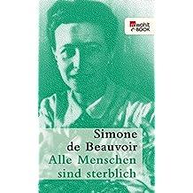 Alle Menschen sind sterblich (German Edition)