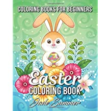 Easter Coloring Book: An Adult Coloring Book with Fun, Easy, and Relaxing Coloring Pages (Coloring Books for Women)