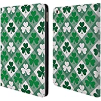 Head Case A Scacchi Pattern Shamrock Cover