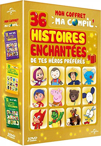 Preisvergleich Produktbild Coffret ma compil 12 histoires... : pour ton anniversaire ; pour chanter et danser ; de petits sportifs [FR Import]