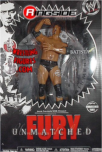 BATISTA - BEST OF UNMATCHED FURY 1 WWE TOY WRESTLING ACTION FIGURE (DOES NOT MOVE) by Jakks Pacific