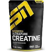 ESN Ultrapure Creatine Monohydrate, reinstes Kreatin Pulver, 500 g Beutel