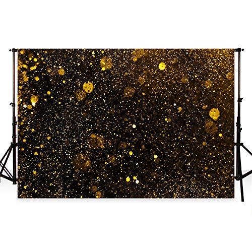 Kulissen Golden Glitter Spots Geburtstag Party Dekoration Hochzeit Foto Hintergrund für Hochzeit wiederverwendet Hintergründe ()