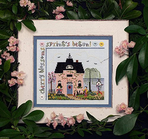Cherry Blossom Cottage Sampler Diagramm