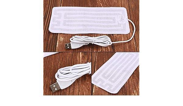 USB 8*18cm d/'Hiver Unisex Chaussures Sport Semelle ski élément chauffant Chauffé Semelle