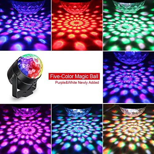 Itoncs Boule Disco Lampe De Scen Eclairage De Discotheque 5w Mini
