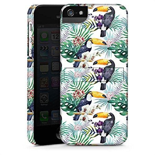 Apple iPhone X Silikon Hülle Case Schutzhülle Muster Bunt dschungel Premium Case StandUp