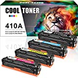 Cool Toner Kompatibel für CF410A CF411A CF412A CF413A Toner für HP Color Laserjet Pro MFP M477fdw M477fdn M477fnw M452nw M452dn Toner, HP M477 M452 M377, Schwarz Color je 2.300 Seiten, 4 Packs