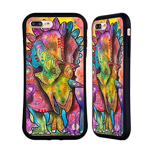Ufficiale Dean Russo Mammut Preistorico Case Ibrida per Apple iPhone 6 Plus / 6s Plus Triceratopo
