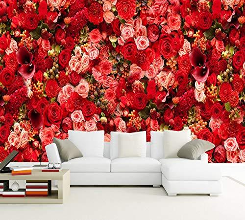 se Sea Theme Valentine Party Wohnzimmer Schlafzimmer Wandpapier Wand Tapete 3D, 430X300 Cm ()