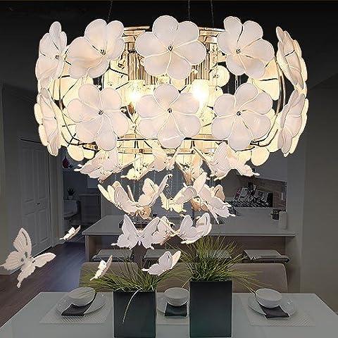 Uno stile moderno e minimalista camera da letto soggiorno ristorante Cafe lampadari luce a soffitto-G621