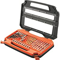 Black & Decker 35 Pieces Set Mixed Drill & Screwdriver Set A7152-XJ