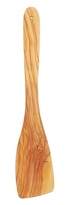 metaltex 580612010 - spatola da cucina in legno d'ulivo, 30 cm ... - Spatola Cucina