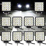 VINGO10x 48w LED luces de trabajo Foco Luz Offroad Faro Lu Faro de indicador de Trabajo fuera de carretera 10-30V DC tecnología multitensión