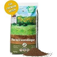 Plantura Bio Herbstrasendünger mit Langzeit-Wirkung, 10,5 kg, für maximale Winterhärte, idealer Dünger für den Rasen im…