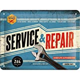 Nostalgic-Art 26179 Best Garage - Service & Repair, Blechschild 15x20 cm