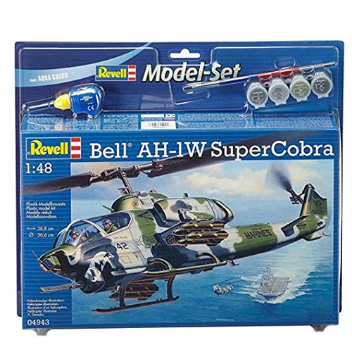 Revell 64943 Modellbausatz Bell AH-1W SuperCobra im Maßstab 1:48