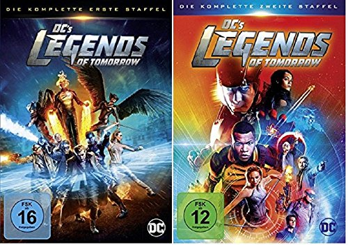Produktbild DC's Legends of Tomorrow Staffel 1+2 [DVD Set]