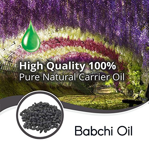 Babchi Oil (Psoralea Corylifolia) 100% Natural Pure Carrier Oil 10ML