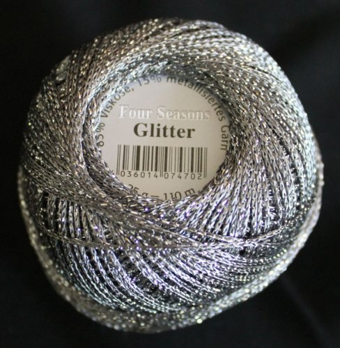 Glitter Gründl Wolle Häkelgarn 25 g Farbe 8220