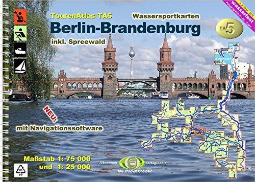 Preisvergleich Produktbild TourenAtlas Wasserwandern / TourenAtlas TA5 Berlin-Brandenburg: inkl. Spreewald