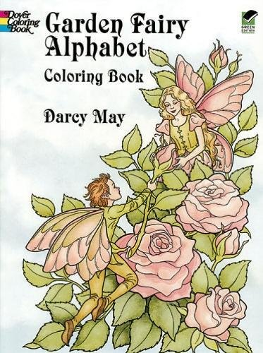 Garden Fairy Alphabet Coloring Book (Dover Coloring Books)