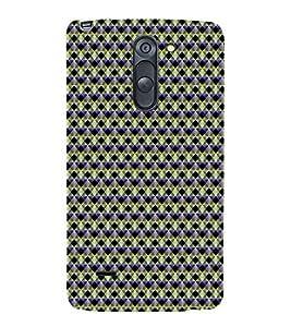 Colourful Pattern 3D Hard Polycarbonate Designer Back Case Cover for LG G3 Stylus :: LG G3 Stylus D690N :: LG G3 Stylus D690