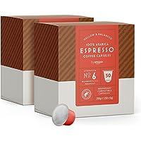 by Amazon Capsules Espresso, compatibles Nespresso, 100 capsules (2 x 50)