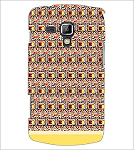 PrintDhaba Pattern D-1501 Back Case Cover for SAMSUNG GALAXY S DUOS S7562 (Multi-Coloured)