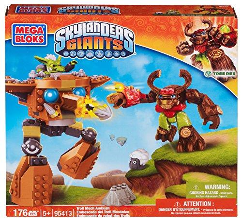 Preisvergleich Produktbild Mega Bloks 95413 - Skylanders Troll Mech Ambush, Konstruktionsspielzeug