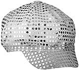 Smiffys - Sm25522 - Casquette Disco Paillettes Argent - Taille Unique