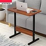 YNN Tragbare Nachttisch Laptop Schreibtisch Schlafzimmer Bett Schreibtisch Lift Tabelle Faul Tisch Frühstück Tabelle 60 * 40 * 68 cm (Farbe : D)