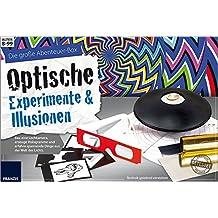 FRANZIS Die große Abenteuer-Box Optische Experimente und Illusionen: Bau eine Lochkamera, entdecke Hologramme und spannende Dinge aus der Welt des Lichts | Ab 8 Jahren