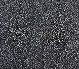 Natur Kies Basalt schwarz Bodengrund Zierkies Garten Aquarium 3-5 mm 25 kg