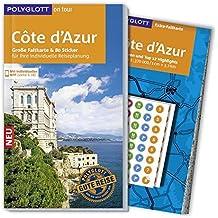 POLYGLOTT on tour Reiseführer Côte d'Azur: Mit großer Faltkarte, 80 Stickern und individueller App