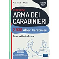 Concorso Arma dei Carabinieri: 2.938 Allievi Carabinieri