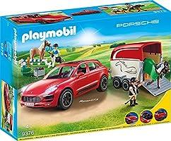 PLAYMOBIL Sports & Action 9376 Porsche Macan GTS mit Lichteffekten, Ab 4 Jahren